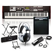 Hammond SK1-73 73-Key Digital Stage Keyboard and Organ with Keyboard Amp, Stand, Headphones, Bench & Sustain Pedal