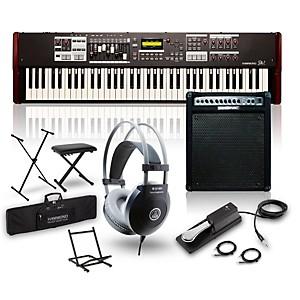 Hammond SK1-73 73 Key Digital Stage Keyboard and Organ with Keyboard Amp, S...