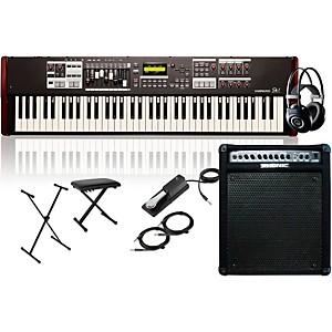 Hammond SK1-73 73 Key Digital Stage Keyboard and Organ with Keyboard Amplif... by Hammond