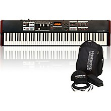 Hammond SK1-88 88-Key Digital Stage Keyboard and Organ with Keyboard Accessory Pack