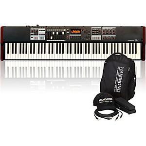 Hammond SK1-88 88 Key Digital Stage Keyboard and Organ with Keyboard Access...