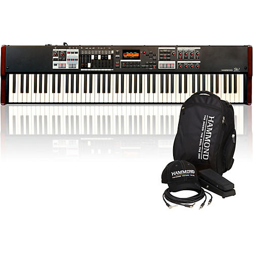 Hammond SK1-88 88-Key Digital Stage Keyboard and Organ with Keyboard Accessory Pack-thumbnail