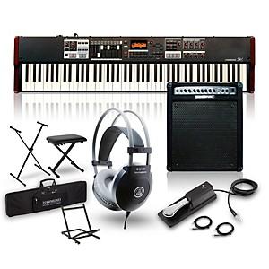 Hammond SK1-88 88 Key Digital Stage Keyboard and Organ with Keyboard Amp, S...