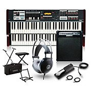 Hammond SK2 Organ with Keyboard Amplifier, Stand, Headphones, Bench and Sustain Pedal