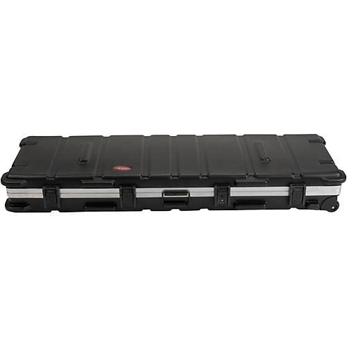 SKB SKB-5817W Slimline 88-Key Keyboard Case with Wheels-thumbnail
