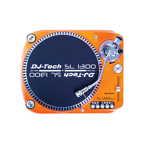 DJ TECH SL 1300 MK 6 Direct Drive Turntable with USB Output