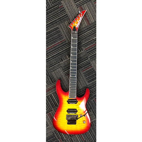 Jackson SL2Q Pro Series Soloist Solid Body Electric Guitar Cherry Sunburst