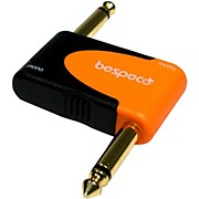Bespeco SLAD210 1/4 in. Stereo Male to 3.5 mm Stereo Female 24K Gold-Plated Adapter