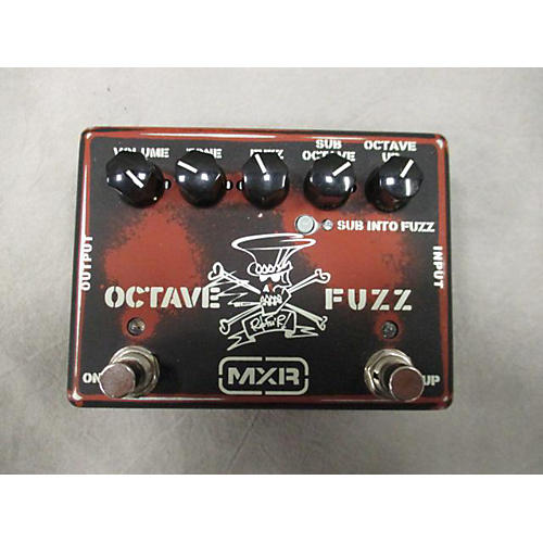 MXR SLASH OCTAVE FUZZ Effect Processor