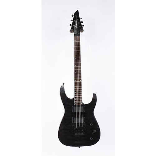 Jackson SLATXMGQ3-6 Soloist Electric Guitar Transparent Black 886830920417