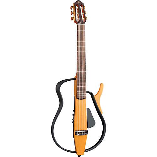 Yamaha SLG110N Nylon String Silent Guitar Natural