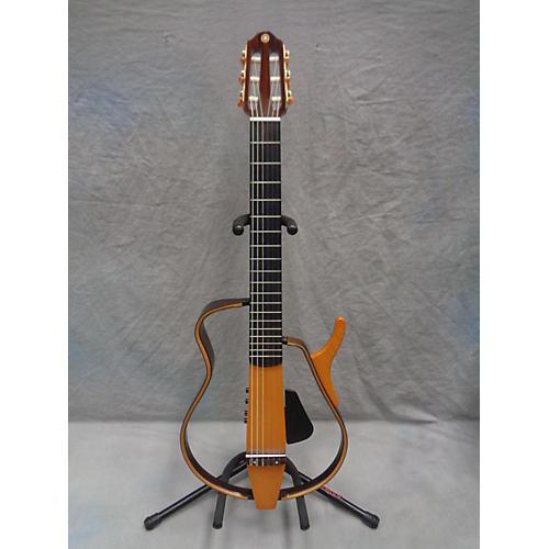 Yamaha SLG130W Classical Acoustic Electric Guitar-thumbnail