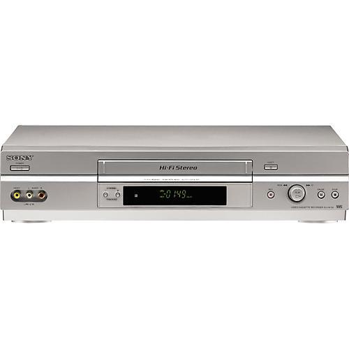 Sony SLV0N750 4-Head Hi-Fi VCR
