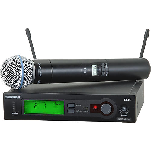 Shure SLX Beta58 Handheld Wireless System-thumbnail