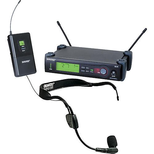 Shure SLX Wireless Headset System with WH30 Mic-thumbnail
