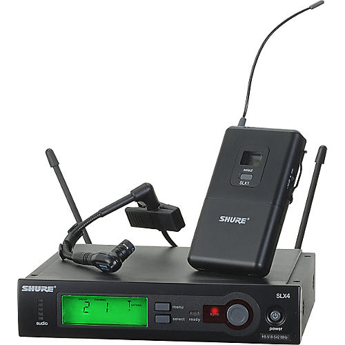 Shure SLX14/BETA98H Instrument Wireless System-thumbnail