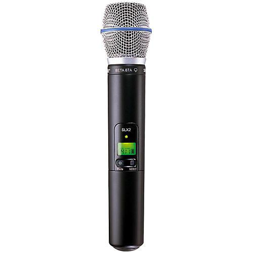 Shure SLX2/BETA87A Wireless Handheld Transmitter Microphone L4