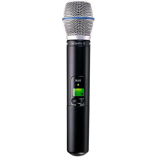 Shure SLX2/BETA87A Wireless Handheld Transmitter Microphone-thumbnail