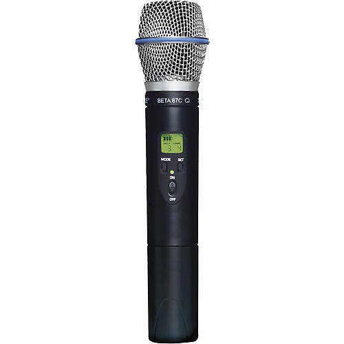 Shure SLX2/BETA87C Wireless Handheld Transmitter Microphone-thumbnail