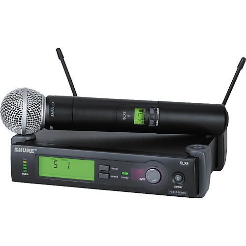 shure slx24 sm58 wireless microphone system guitar center. Black Bedroom Furniture Sets. Home Design Ideas