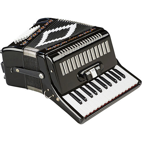 SofiaMari SM-2648, 26 Piano 48 Bass Accordion Black Pearl-thumbnail