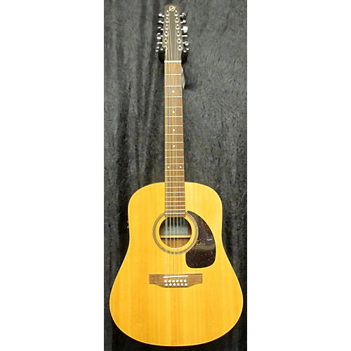 Seagull SM12 12 String Acoustic Electric Guitar-thumbnail