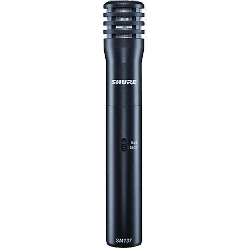 Shure SM137 Condenser Instrument Microphone-thumbnail