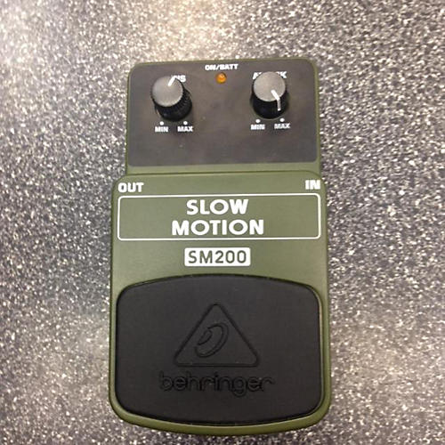 Behringer SM200 Slow Motion Classic Attack Pedal-thumbnail
