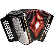 SM3112 Black FBE 31 Button Accordion