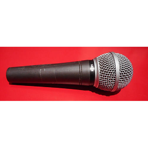 used shure sm48lc dynamic microphone guitar center. Black Bedroom Furniture Sets. Home Design Ideas