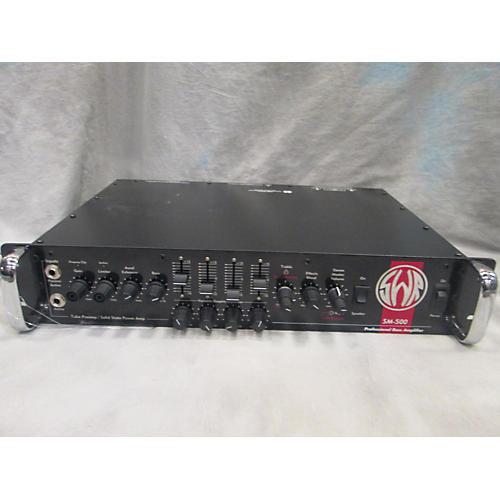 SWR SM500 500W Bass Amp Head-thumbnail