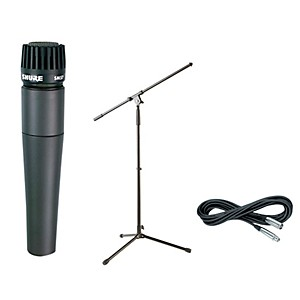 Shure SM57, Stand and Cable Package by Shure