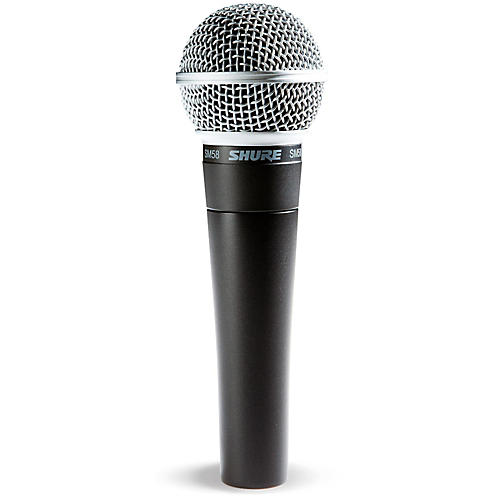 The Shure SM58 for Face to Face Podcast Interviews or Co-Hosting