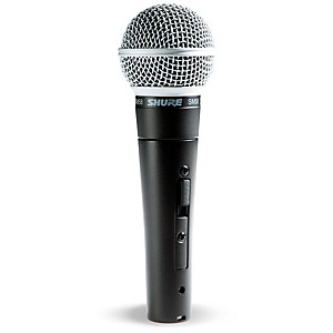 Shure SM58S Microphone with Switch