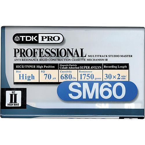 TDK SM60 Cassette-thumbnail