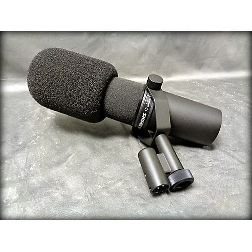 used shure sm7b dynamic microphone guitar center. Black Bedroom Furniture Sets. Home Design Ideas