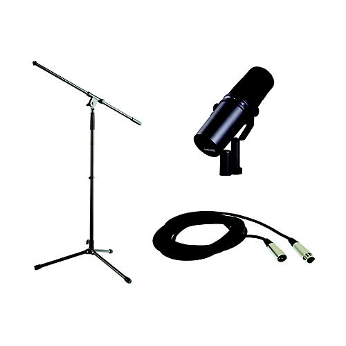 Shure SM7B Stand and Cable Bundle-thumbnail