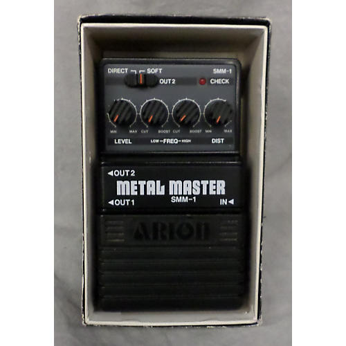 Arion SMM1 METAL MASTER Effect Pedal