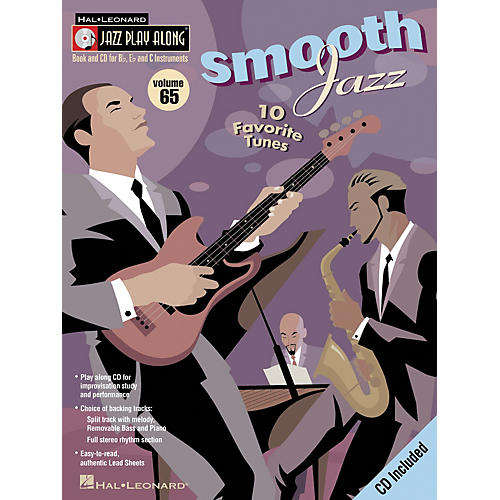 Hal Leonard SMOOTH JAZZ - JAZZ PLAY-ALONG VOLUME 65 BK/CD-thumbnail