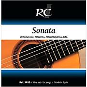 RC Strings SN10 Sonata Medium-High Tension Nylon Guitar Strings