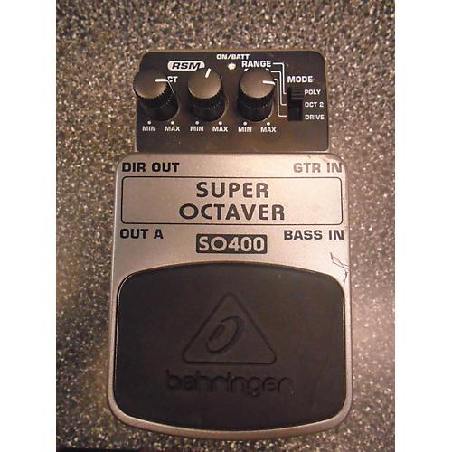 Behringer SO400 Super Octaver Effect Pedal-thumbnail