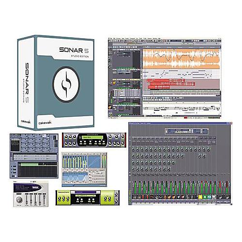 Cakewalk SONAR 5 Studio-thumbnail