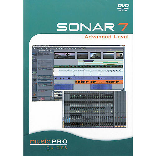 Hal Leonard SONAR 7 Advanced Level - Music Pro Series (DVD)-thumbnail