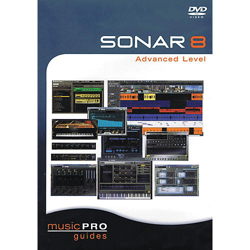 Hal Leonard SONAR 8 Advanced Level - Music Pro Guides Series (DVD)