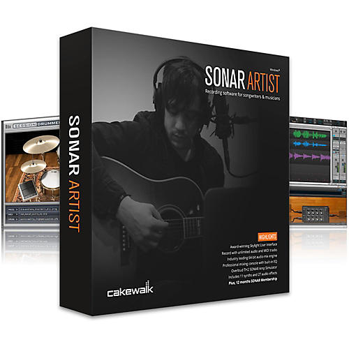 Cakewalk Artist : Cakewalk SONAR Artist EDU Lab Pack (5-user) Guitar Center