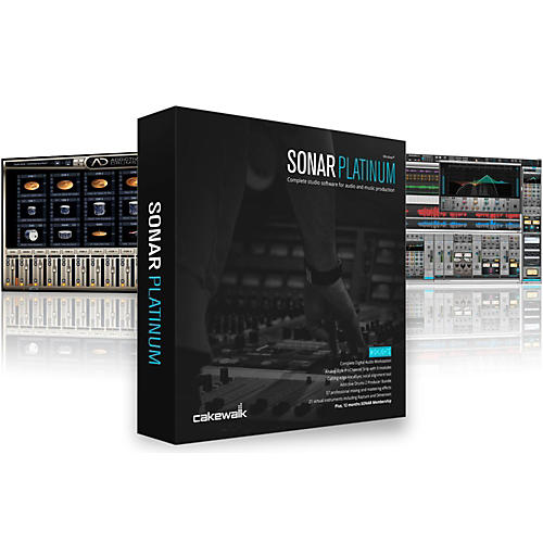 Cakewalk SONAR Platinum Upgrade From Any Studio or Professional Version