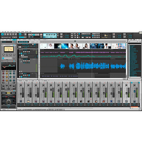 Cakewalk SONAR X2 Producer PROMO Software Download-thumbnail