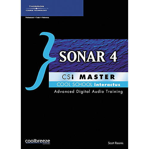 Course Technology PTR SONAR4 CSi Master (CD-ROM)