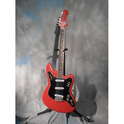 Giannini SONIC Solid Body Electric Guitar RED