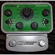Source Audio SOUNDBLOX 2 DIMENSION REVERB Effect Pedal